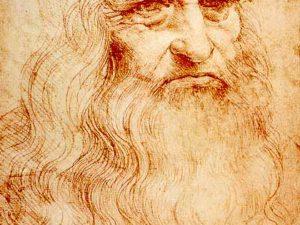 Leonardo Da Vinci Dapat Menulis Dan Menggambar Secara Bersamaan