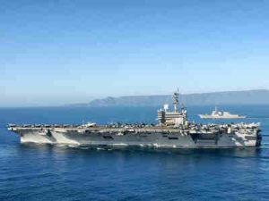 USS Ronald Reagan Dapat Berlayar Selama 20 Tahun Tanpa Harus Mengisi Bahan Bakar