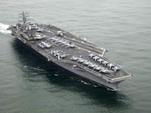 Kapal Ini Dapat Membawa 80 Pesawat dan Berlayar 20 Tahun Tanpa Mengisi Bahan Bakar