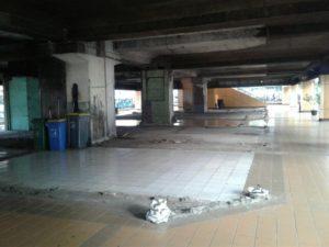 Entah Kenapa Lantai Dasar Stasiun Gondangdia Belum Juga Dimanfaatkan