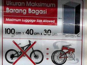 Bolehkah Membawa Sepeda Ke Atas Commuter Line ? YA dan TIDAK