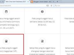 Rupanya Masyarakat Indonesia Tidak Suka Membaca Aturan : Lomba Foto Wiki Cinta Alam Indonesia 2017