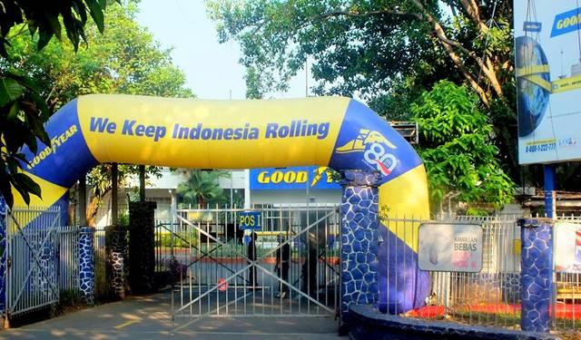 Good Year - Pabrik Ban Pertama di Indonesia