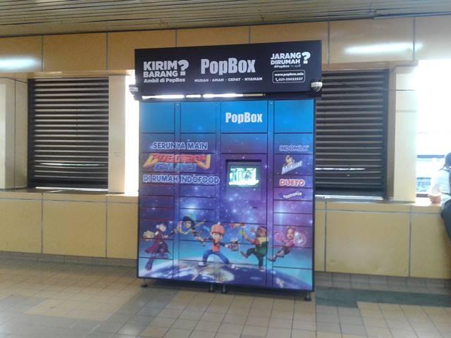 POP BOX : Solusi Penggemar Belanja Online Yang Jarang Di Tempat