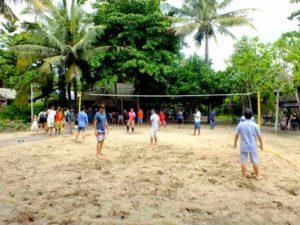 Voli Pantai – Kegiatan Wisata di Nusa Lembongan Bali