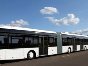 Bus Terpanjang di Dunia  Saat Ini : Autotram Extra Grand