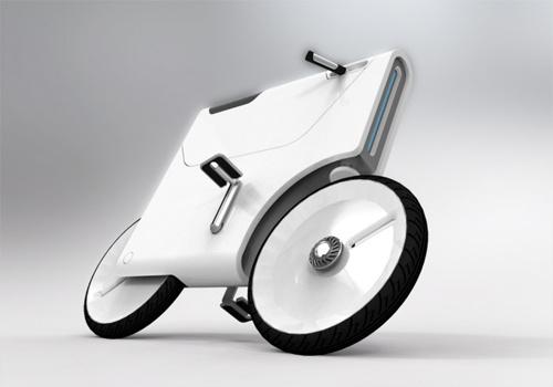 Sepeda Unik : Bisa Untuk Charge Notebook