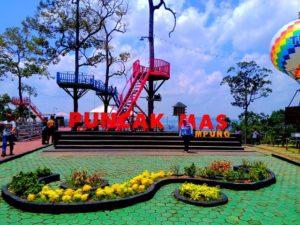 Puncak Mas – Tempat Wisata Kekinian di Lampung Yang Memanjakan Para Pecinta Selfie