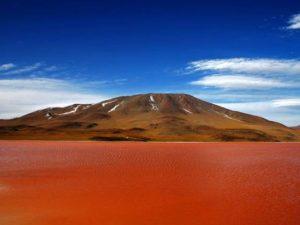 Si Danau Merah : Danau Colorada atau Red Lagoon atau Laguna Colorada