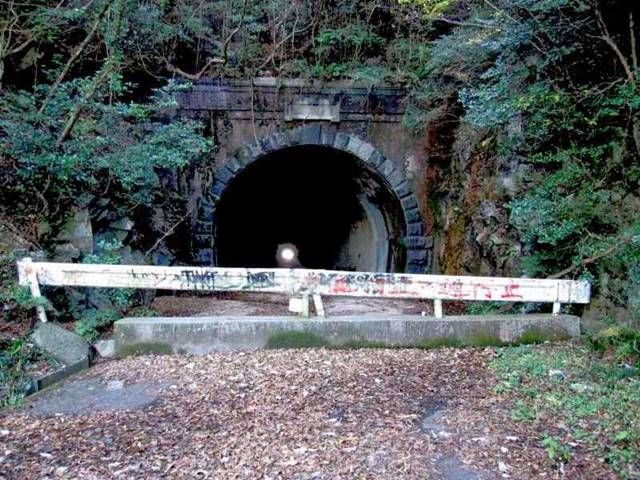 Terowongan Berhantu : Terowongan Chusetsu, Jepang