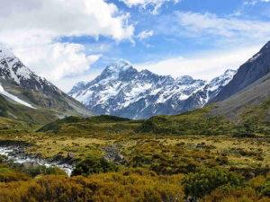 Pemandangan Indah Mount Cook atau Gunung Aoraki – Gunung Tertinggi Di Selandia Baru