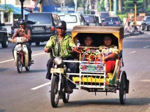 [TERNYATA] Betor (Becak Bermotor) Lampung Beda Dengan Saudaranya Di Medan
