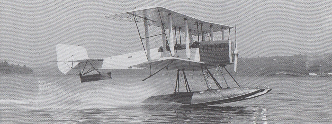 B&W Seaplane : Pesawat Pertama Produksi Boeing