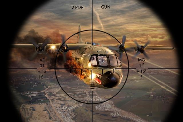 Dogfight : Pertempuran Jarak Dekat Antar Pesawat