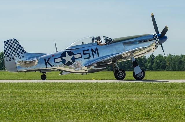 North American P-51 Mustang : Si Cocor Merah