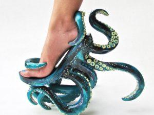 Anda Pecinta Laut? Sepatu Gurita Ini Mungkin Cocok Untuk Anda