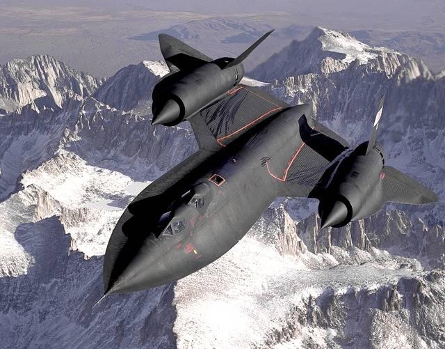 SR-71 : Pesawat Tercepat Di Atmosfir Bumi