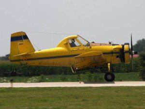 Air Tractor AT-301 : Bukan Traktor Udara Melainkan Penyemprot Hama