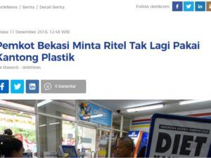 Kota Bekasi Menyusul Kota Bogor Melarang Kantung Plastik ?