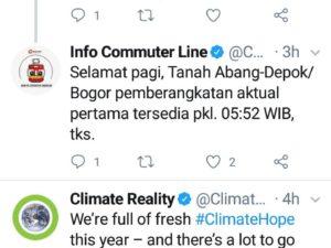 Nyari Info Atau Komplen Commuter Line? Pakai Twitter Saja!
