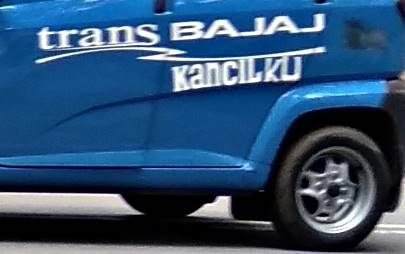 TRANS BAJAJ : Bukan Saudaranya Trans Jakarta si Busway