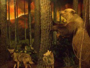 Diorama Kebakaran Hutan Museum Satwa – Hewan Pun Bisa Panik [Jatim Park]