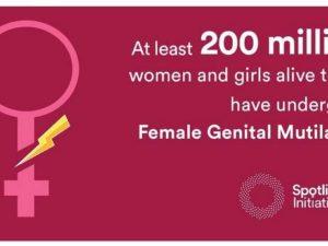 """PBB Menentang Sunat Wanita – Kampanye """"Born Complete"""" (UNFPA)"""