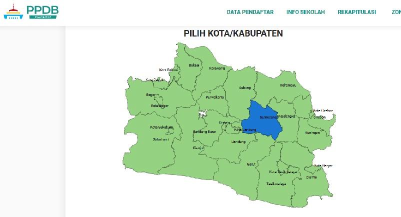 Daftar SMA Negeri Kabupaten Sumedang Berdasarkan Sistem Zonasi PPDB Jabar 2019