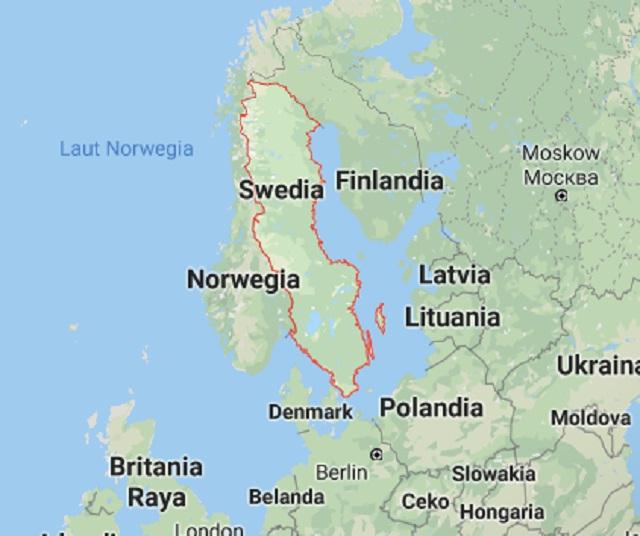 Fakta Menarik Tentang Swedia - Negeri Yang Memanjang