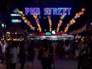 Pub Street, Kawasan Wisata Malam di Siem Reap, Kamboja Bukan Sekedar Penuh Dengan Bar Dan Minuman Keras
