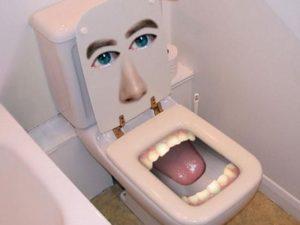 Toilet Unik Ini Cocok Untuk Nongkrong Sambil Membayangkan Orang Yang Anda Benci