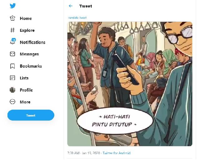 Kata Siapa Rakyat Tidak Bisa Berpendapat : Netizen Menyerang Salah Satu Tweet Pak Jokowi