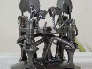 [AMAZING] Patung Metal Dari Onderdil Kendaraan Bekas – Armando Ramirez