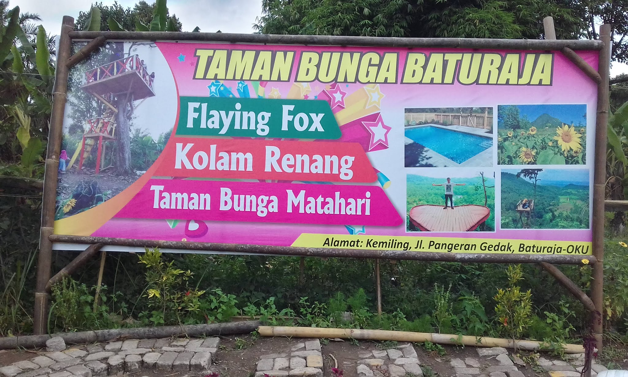 Selintas Tentang Taman Bunga Baturaja