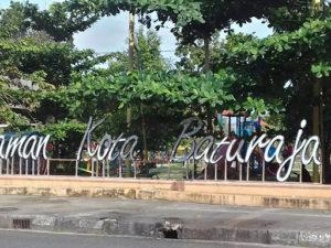 Taman Kota Baturaja : Olahraga Boleh, Jajan Pun Boleh, Bermainpun Boleh