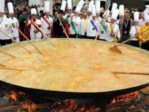 Omelette géante : Telur Dadar Raksasa Titah Sang Napoleon