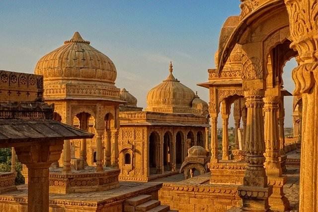 Bada Bagh - Bara Bagh Taman Pemakaman Bersejarah Rajasthan 2