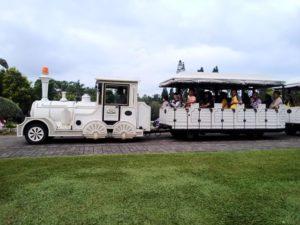 [Foto] Dotto Train : Kereta Jalanan di Taman Bunga Nusantara