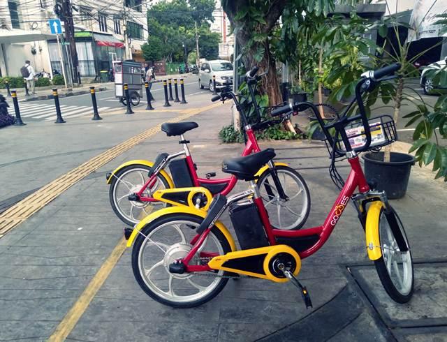 Gowes - Bike-sharing (Berbagi Sepeda) di Jakarta 2