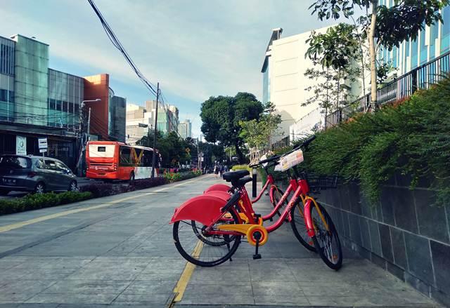 Gowes - Bike-sharing (Berbagi Sepeda) di Jakarta