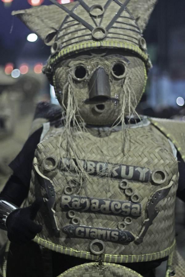 Kesenian Mabokuy - Manusia , Boboko, dan Dudukuy asal Purwaraja Ciamis