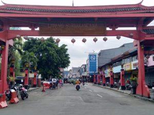 [Foto] Lawang Suryakencana – Gapura Kawasan Chinatown (Pecinan) Bogor