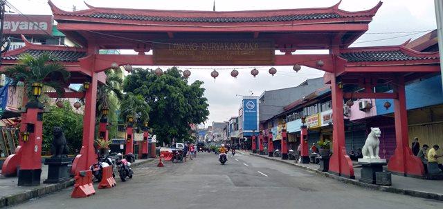 Lawang Suryakencana - Gapura ke Chinatown (Pecinan) Bogor