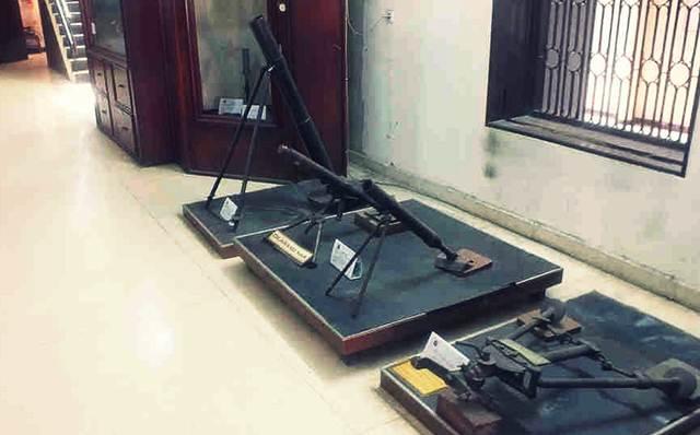 Mortir Kuno Para Pejuang Kemerdekaan di Museum Perjuangan