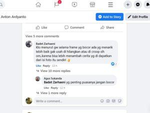 Cara Memberi Spasi Antar Baris Saat Berkomentar di Facebook