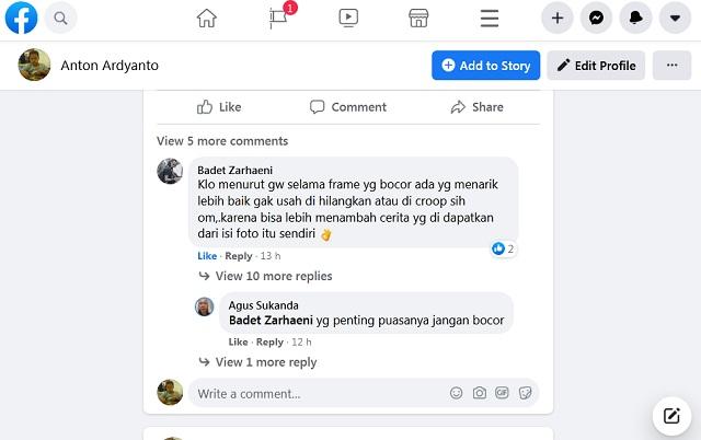 Cara Memberi Spasi Antar Baris atau Paragraf Saat Berkomentar di Facebook
